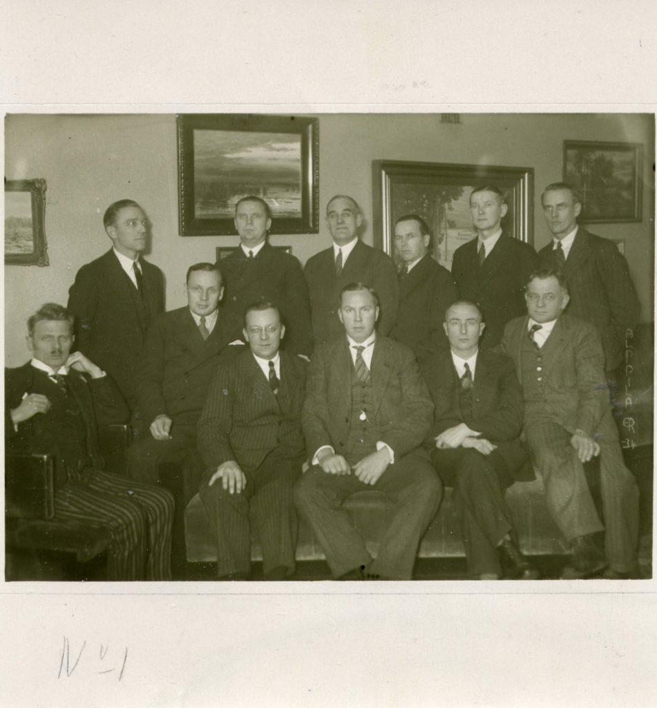 K-29:n jäseniä vuonna 1934.