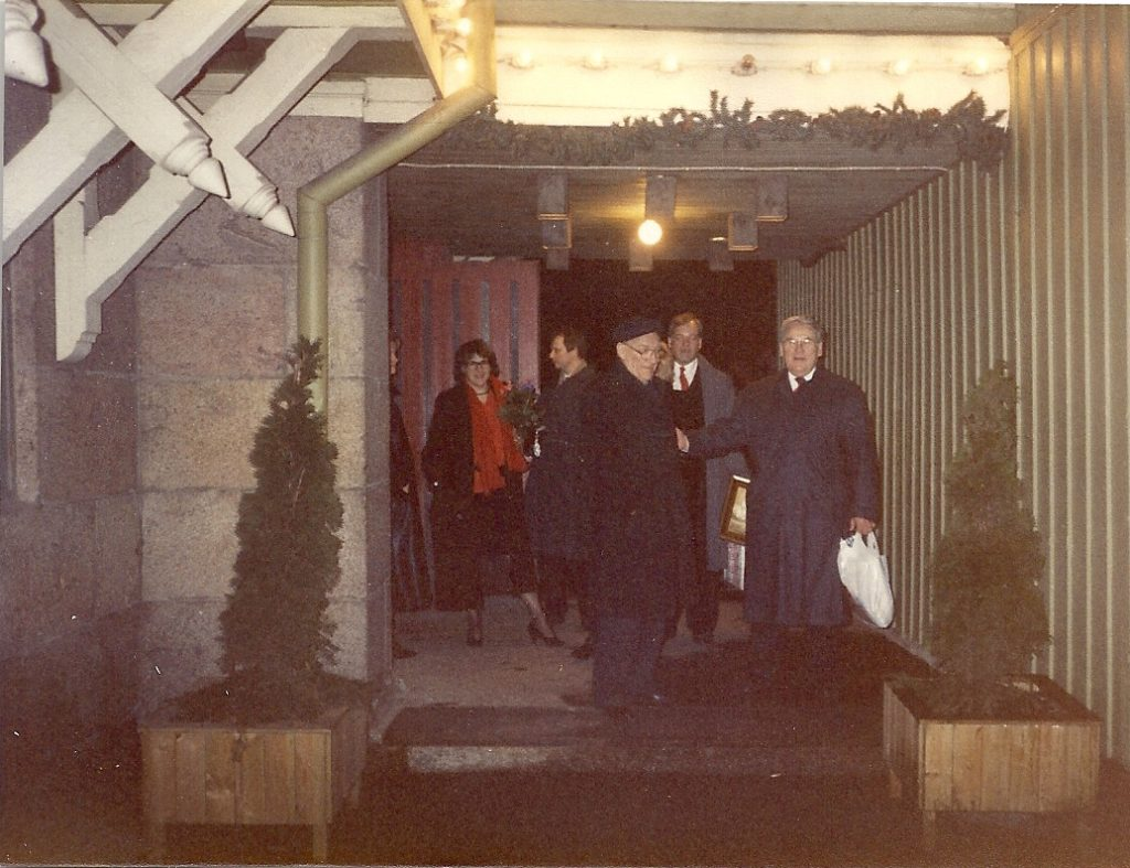 60v juhlat Samppalinnassa 1989